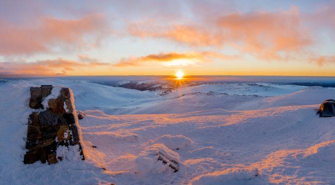 Mt Kosciusko Summit – Winter
